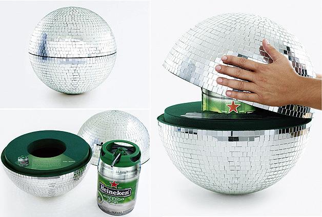 Heineken Globo Disco KEG