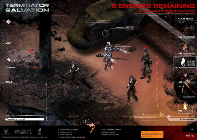 Terminator Salvation Game