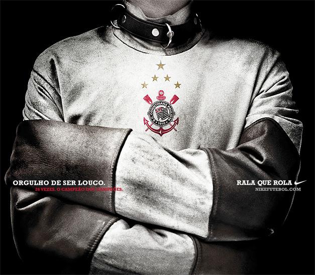 811dc93d99 Nike Corinthians Santos Peixe Campeão Paulista 2009 Invicto Ronaldo
