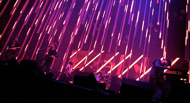 Stages Nine Inch Nails Lights Moment Factory