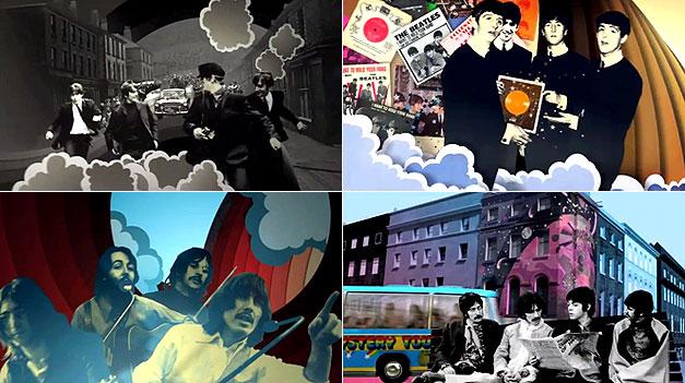 Beatles Rock Band Art