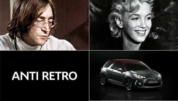 Citroen John Lennon Marilyn Monroe DS