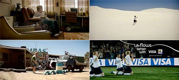Visa Football Evolution World Cup Ad