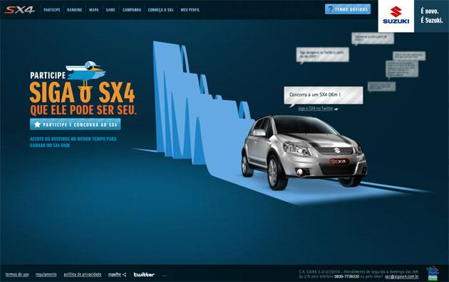 Suzuki SX4 Twitter
