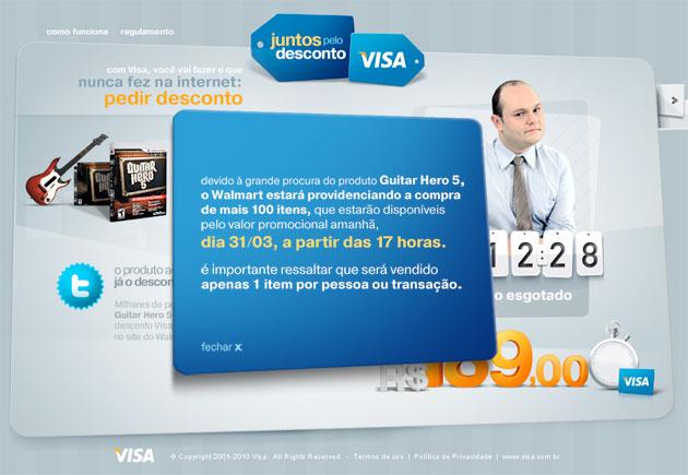 Visa Walmart