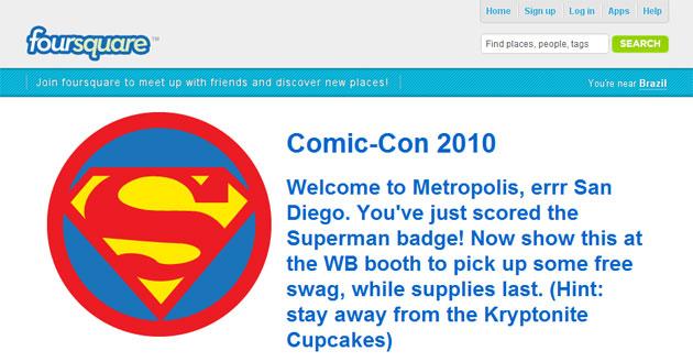 Comic-Con Foursquare