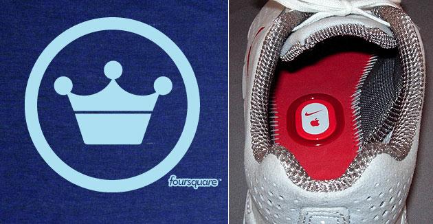 bf63437e776 Check-in automático no Foursquare através do seu tênis com Nike+