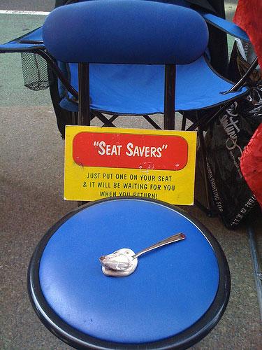 Seat Savers.