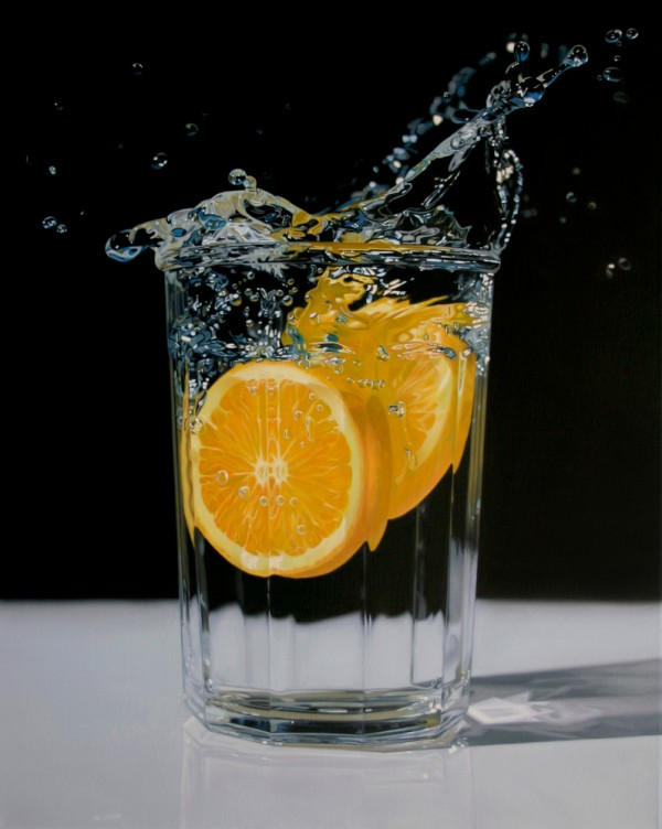 Hyper realist paintings