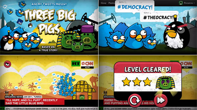 angry birds social media