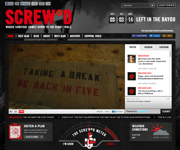 Screwd Craftsman Reality show