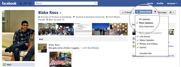 Facebook Subscribe