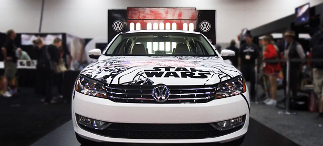 Star Wars Passat 2010 Bid