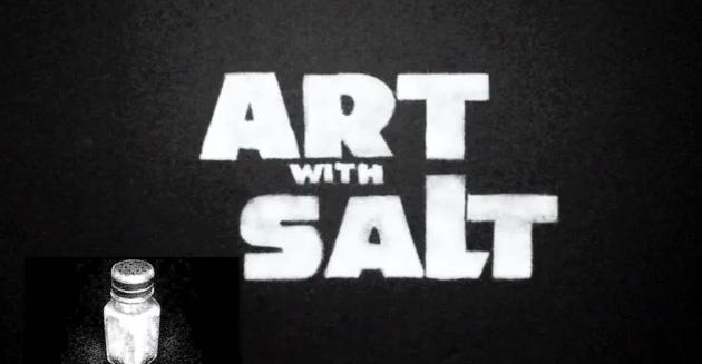 Arte com sal: Darth Vader