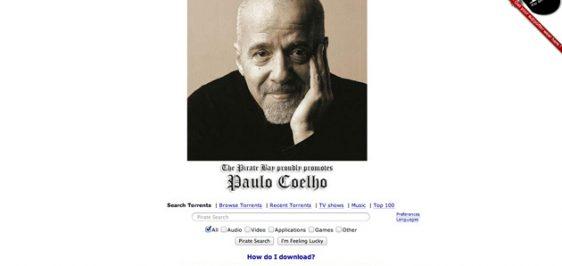 Paulo Coelho The Pirate Bay