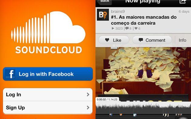 Ouça o Braincast no seu smartphone com o app do SoundCloud