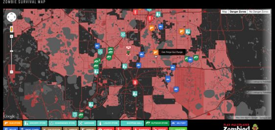 Zombies Map