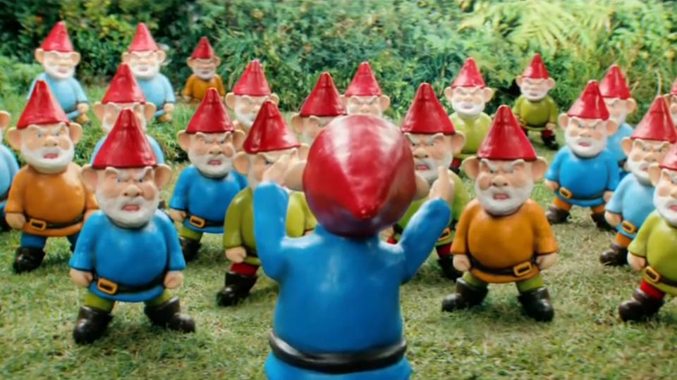 kobold o anao de jardim : kobold o anao de jardim: de referências cinematográficas – e não estamos falando de O