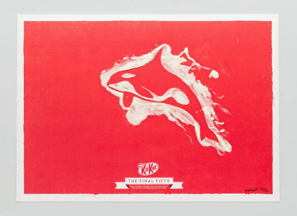 Kit Kat White Art