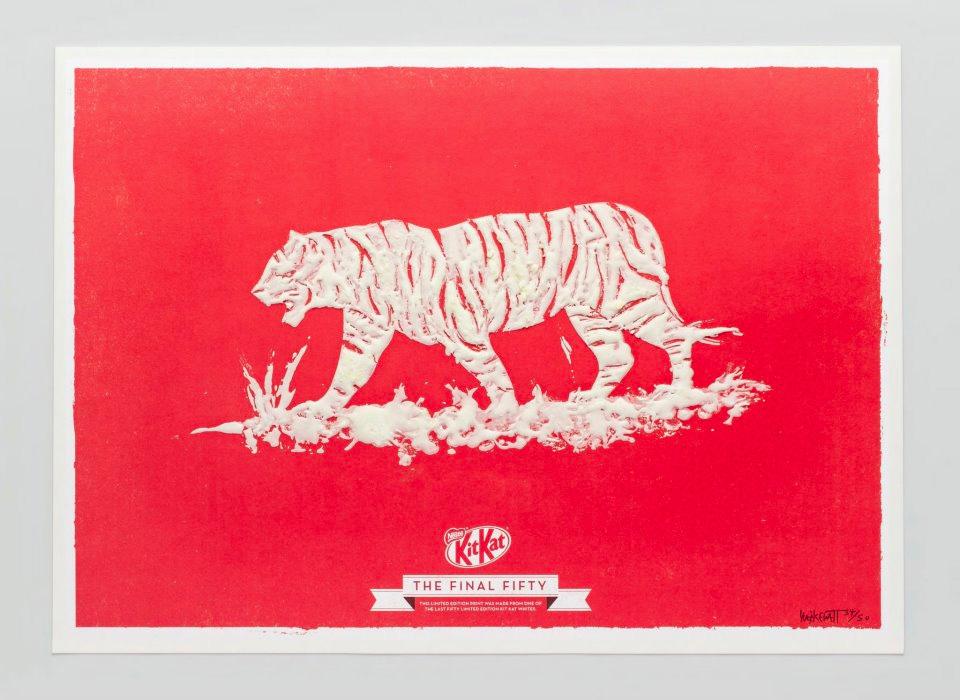 Kit Kat White Art