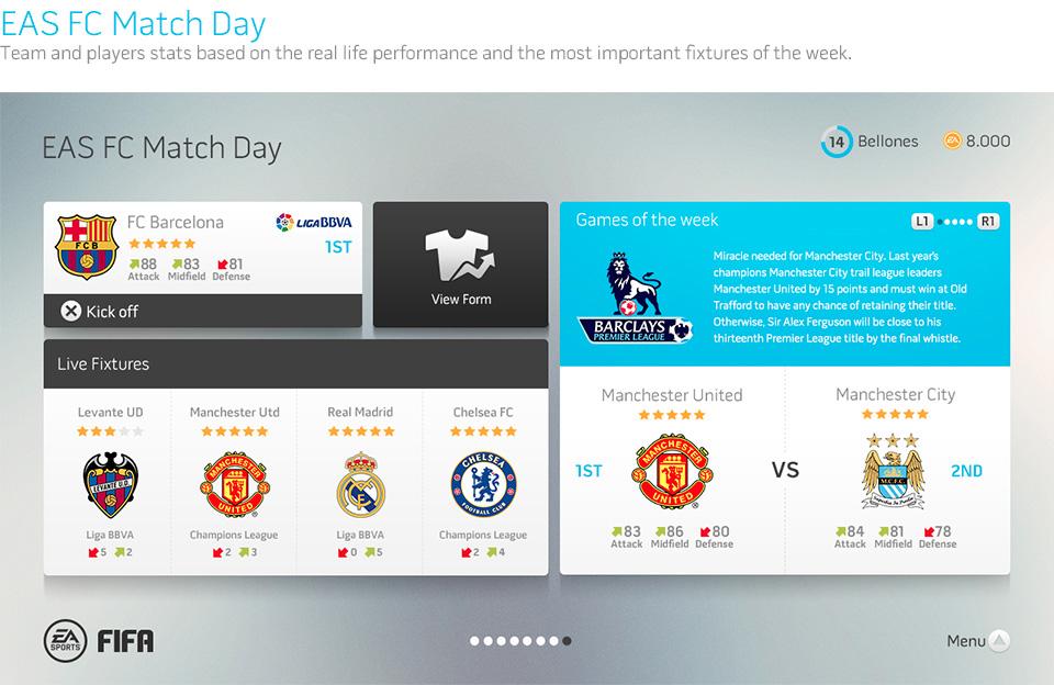 Fifa Interface Concept