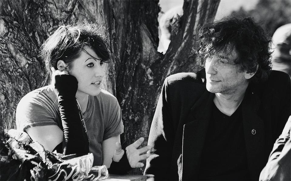 Amanda Palmer e Neil Gaiman