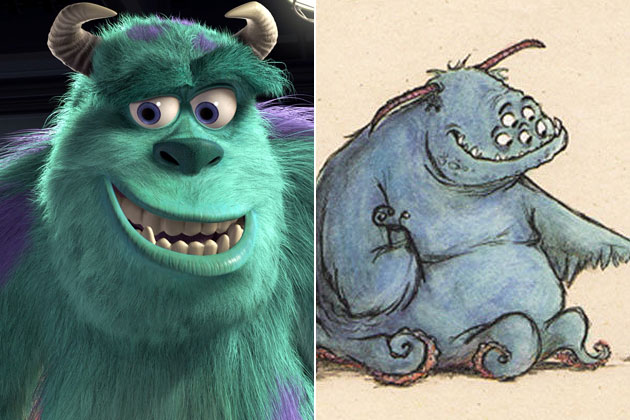 early_movie_concept_art_sulley_monsters_inc