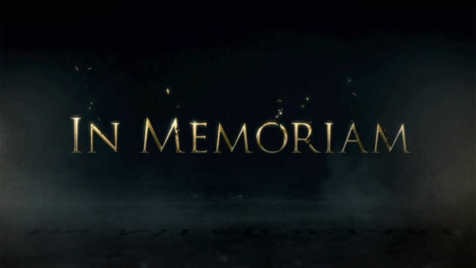Game of Thrones: In Memorian