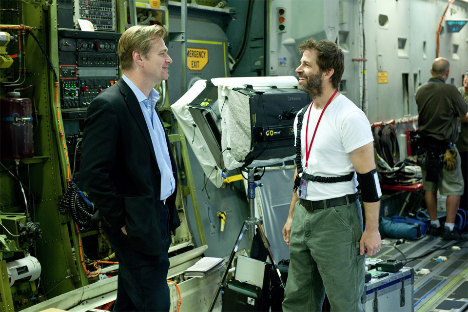 Christopher Nolan e Zack Snyder