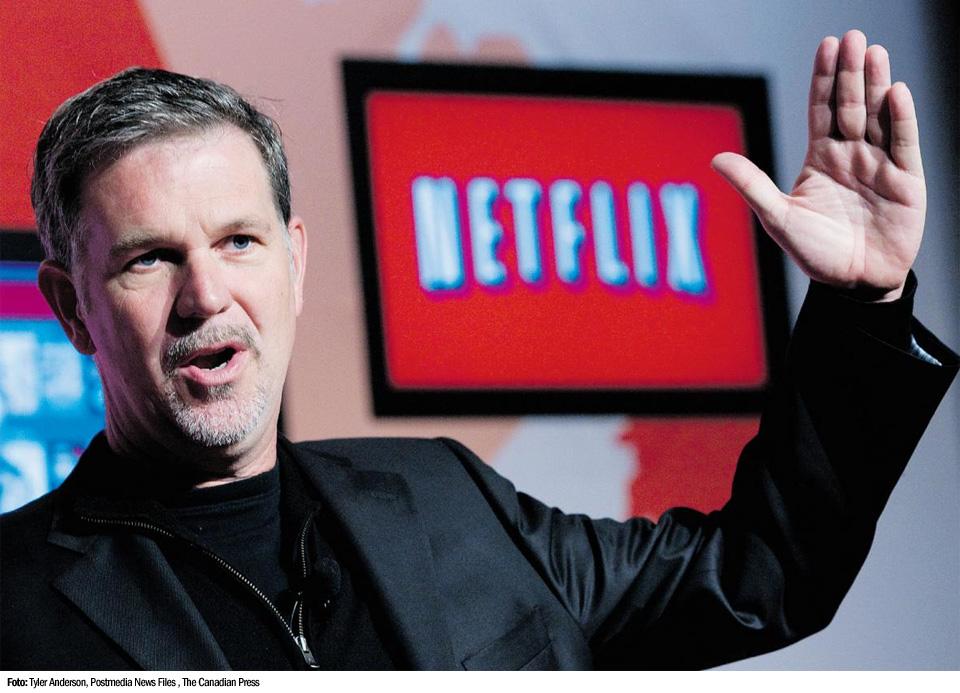 Reed Hastings, CEO