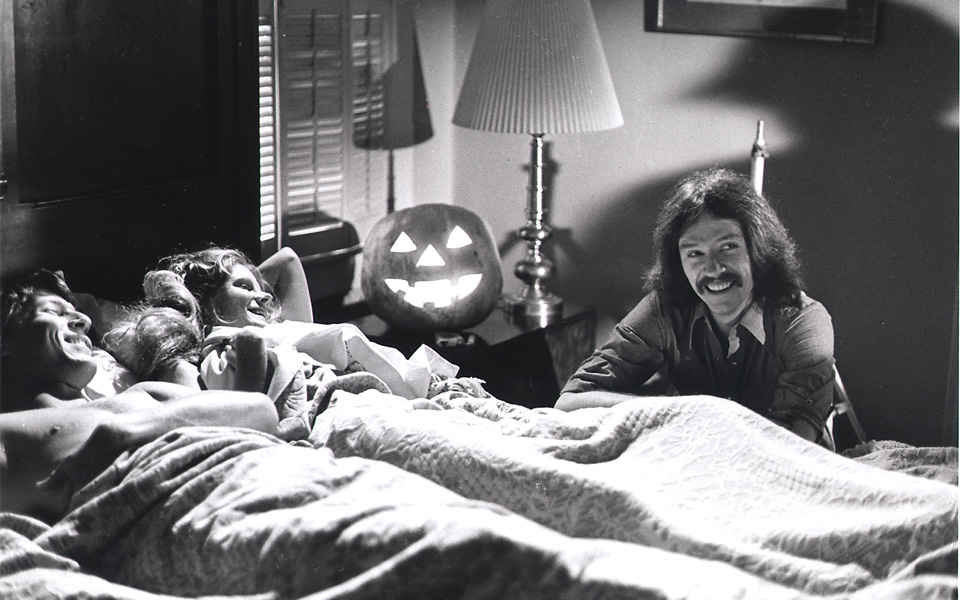 John Carpenter no set