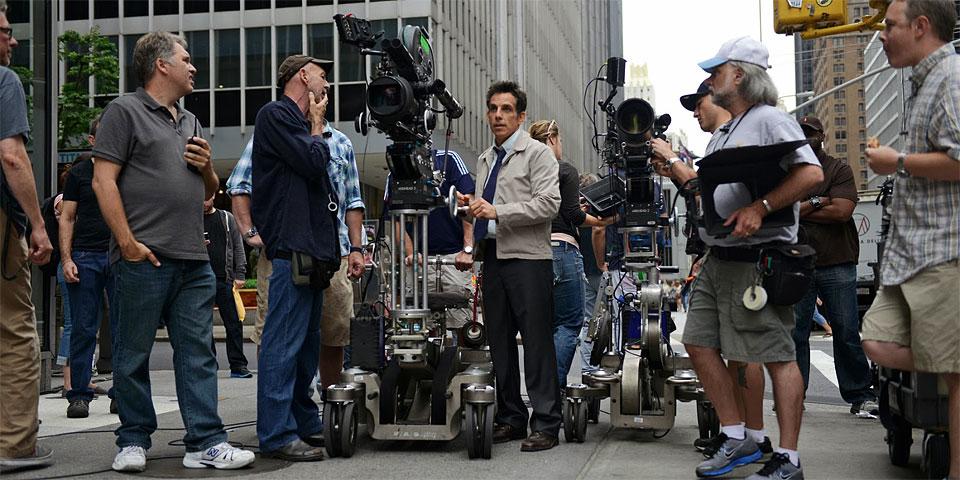 Ben Stiller comanda as filmagens em Nova York