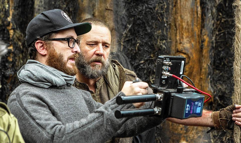 Darren Aronofsky e Russel Crowe