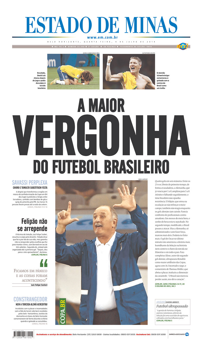 51 - The biggest disgrace in Brazilian soccer