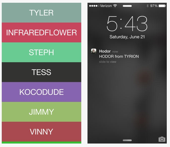 yo-hodor-ios-app