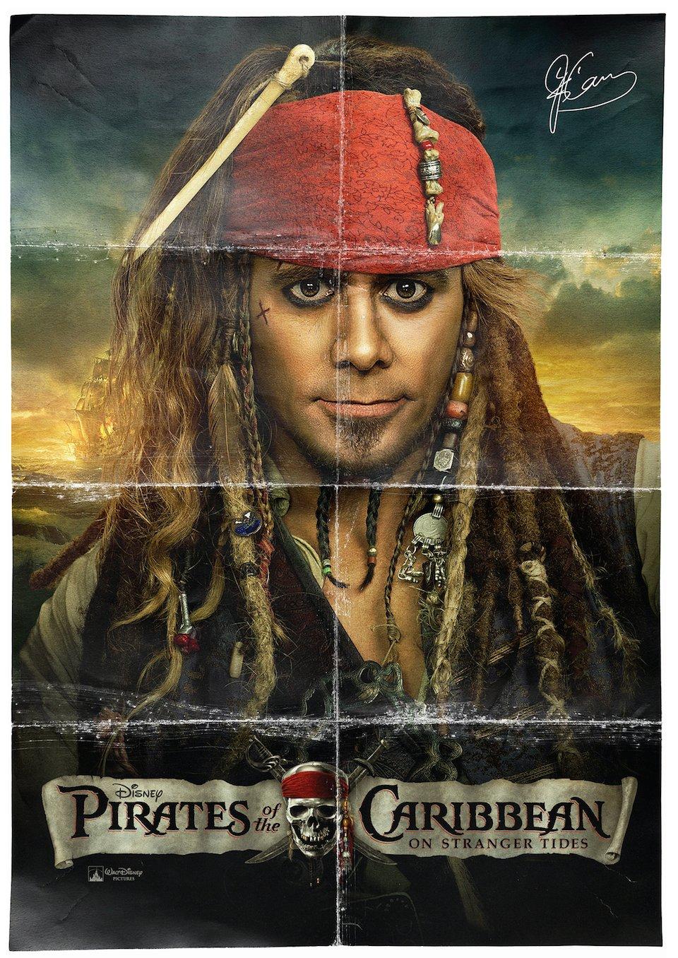 Jim Carrey é Jack Sparrow