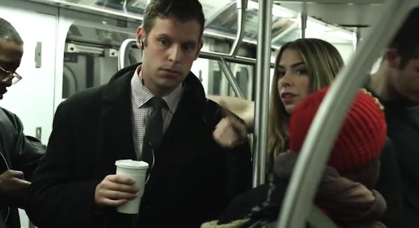 """""""Sete pessoas viram você nesse metrô, sabia?"""""""