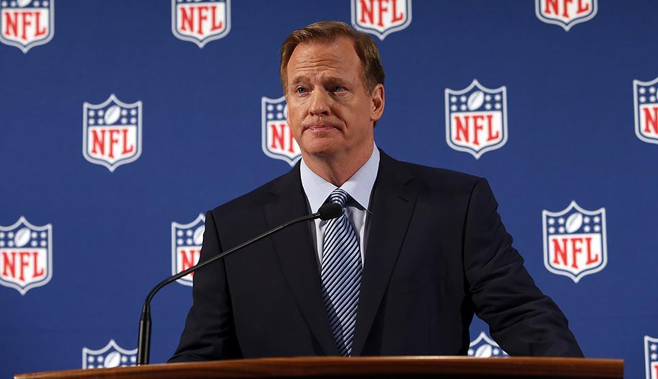 Roger Goodell, presidente da NFL