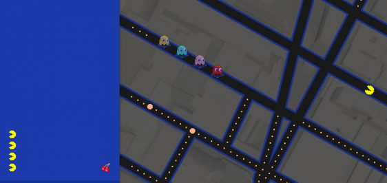googlemaps-pacman-dst