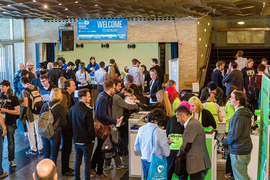 A International Games Week ocorreu entre 21 e 26 de abril em Berlim