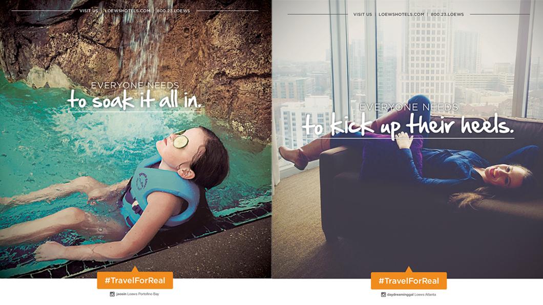Rede de hotéis usa fotos do Instagram para anúncios