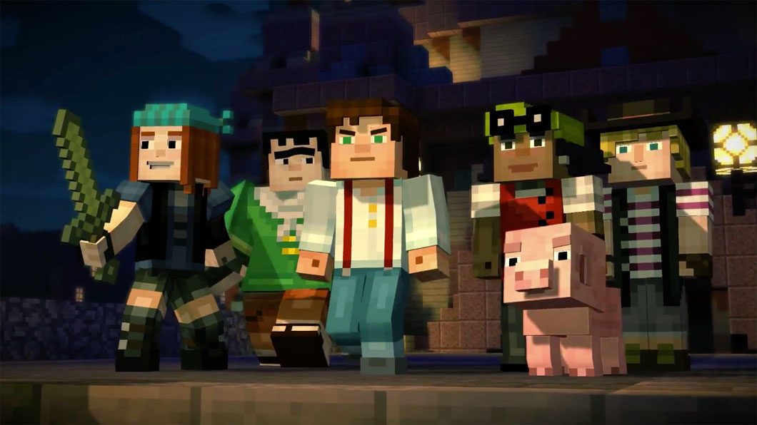 "Telltale Games apresenta ""Minecraft: Story Mode"""