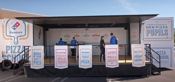 Dominos Pizza School