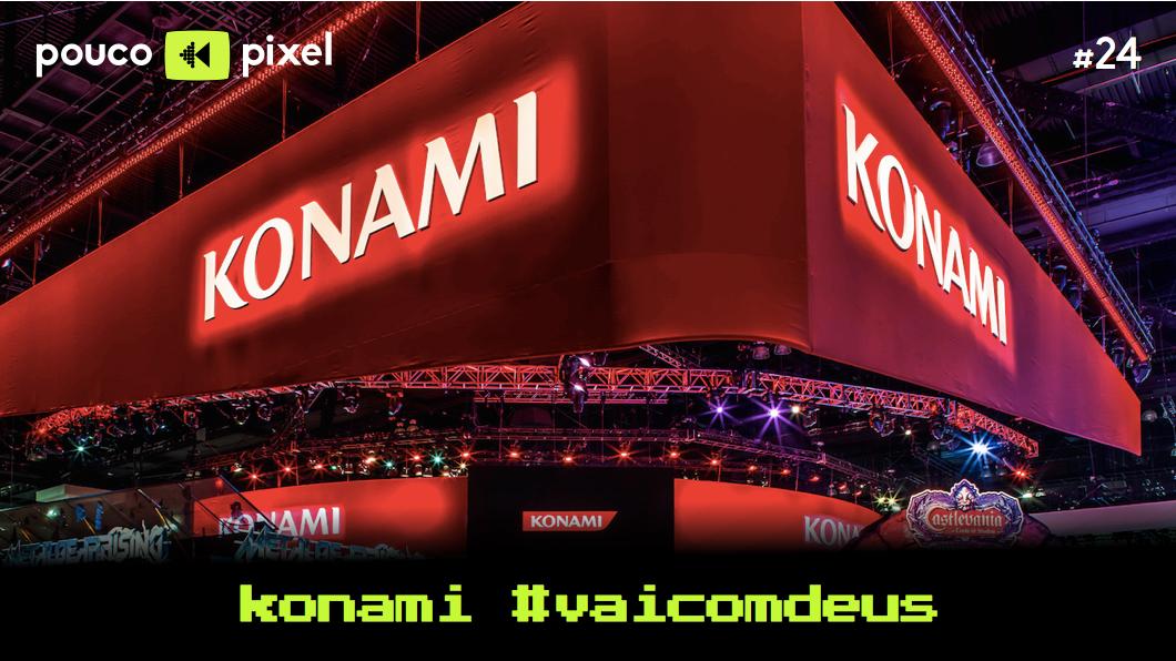 Capa - Konami #vaicomdeus