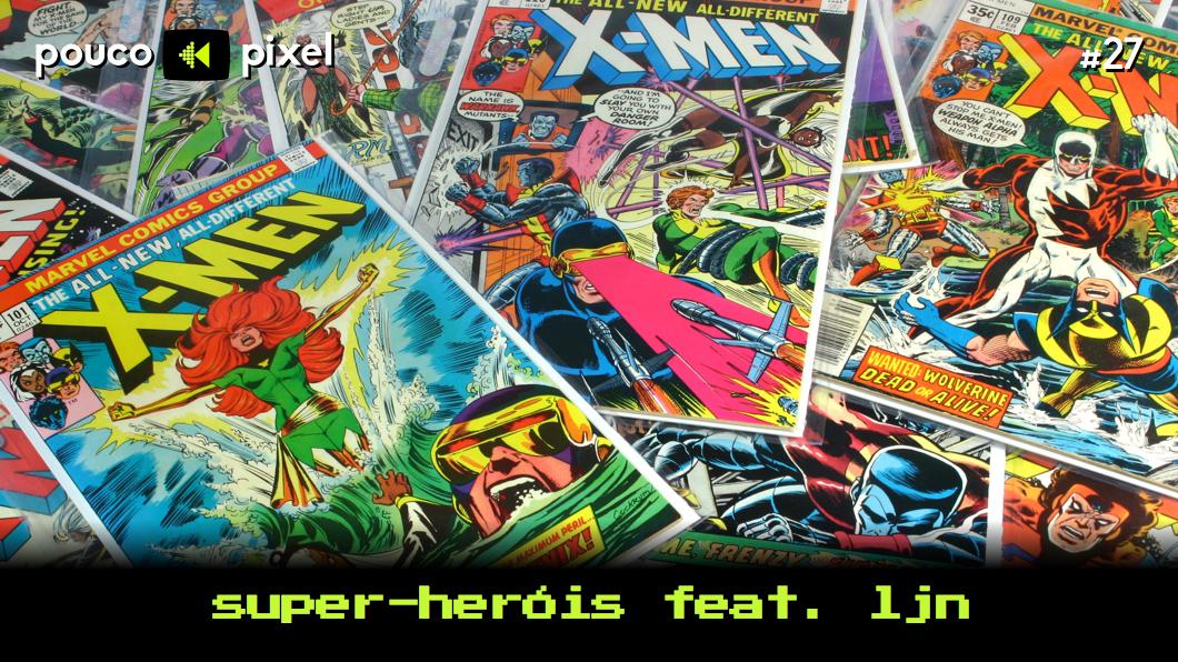 Capa - Super-heróis feat. LJN