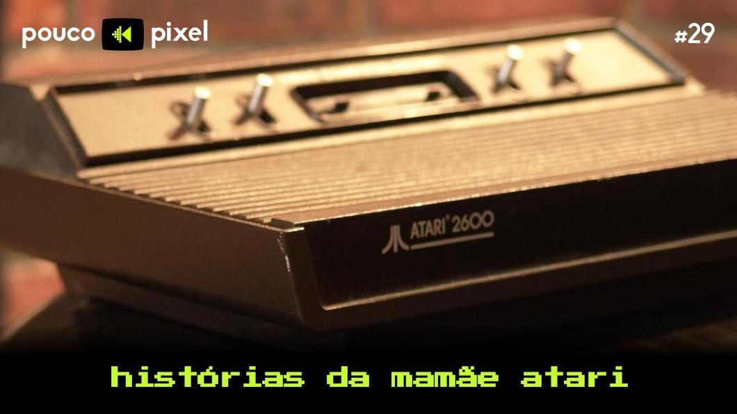 Capa - Histórias da mamãe Atari