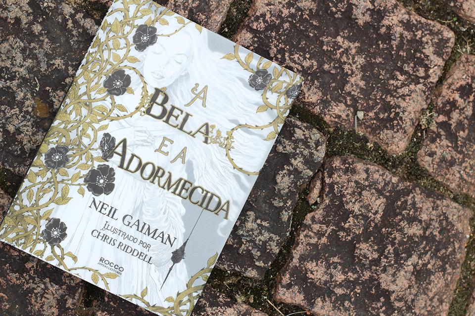 A Bela e a Adormecida, de Neil Gaiman e Chris Riddell (Foto: Anna Schermak)