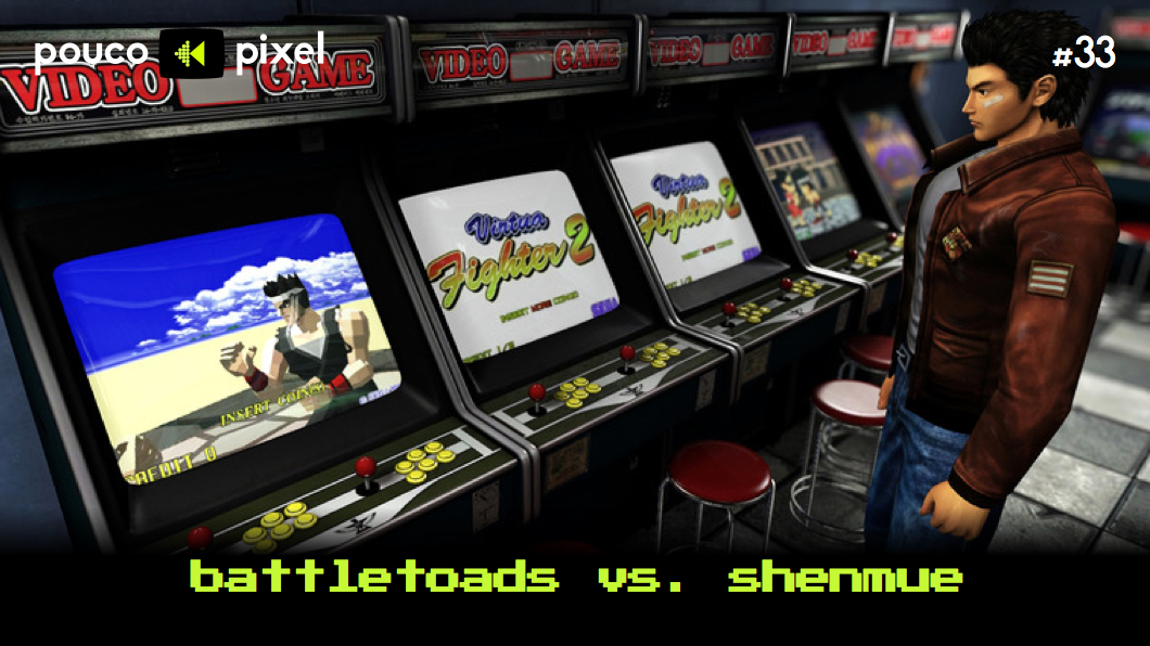 Capa - Battletoads vs. Shenmue