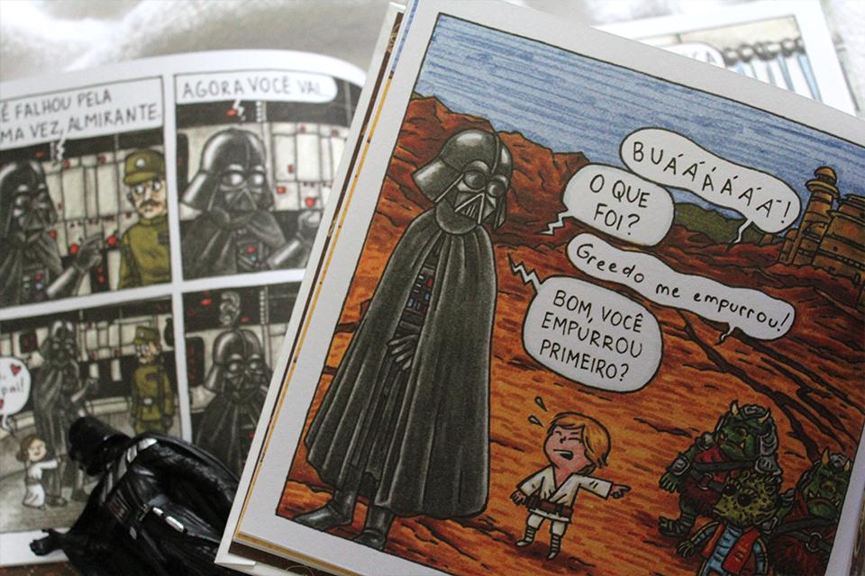 A Princesinha de Vader e Darth Vader e Filho, de Jeffrey Brown - Entrevista com o autor no B9