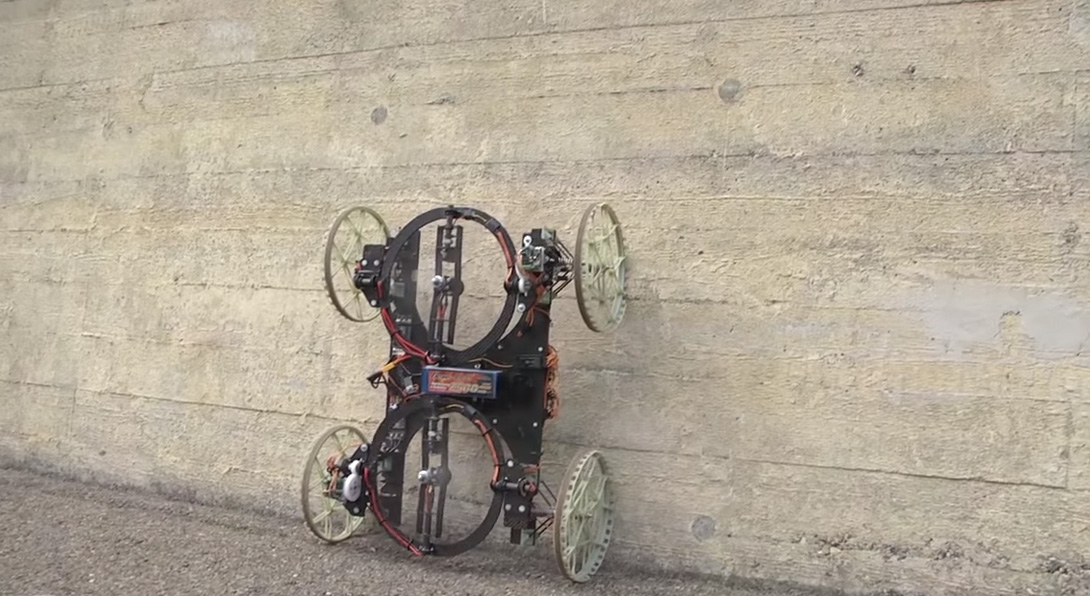 VertiGo: O robô da Disney que escala paredes